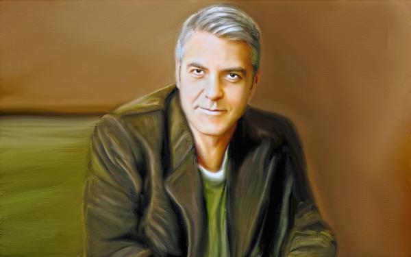 George Clooney por jadedemarseille
